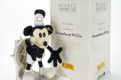 Lot 2415 Steiff Steamboat Willie, Mickey Mouse, Replica, OVP