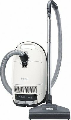 Miele SGDA0 Complete C3 Turbo PowerLine Vacuum Cleaner - Lotus White