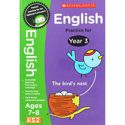 English Practice For Year 3 - Key Stage 2 (Paperback), Children's Books, New