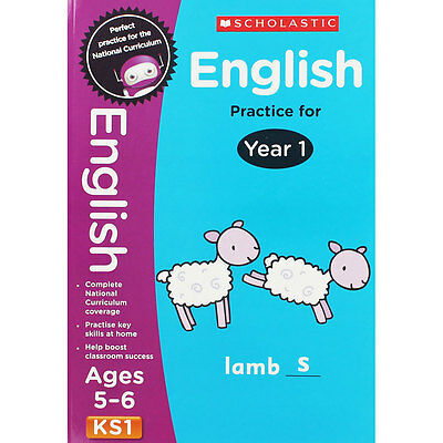 English Practice For Year 1 - Key Stage 1 (Paperback), Children's Books, New