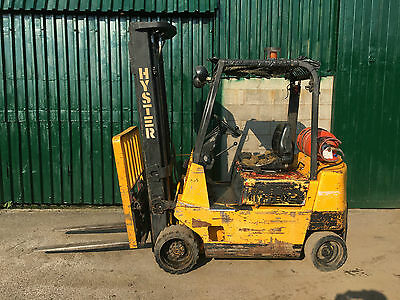 Hyster S2.50XL Site forklift - Gas - 1.2 ton - Good reach - warehouse factory