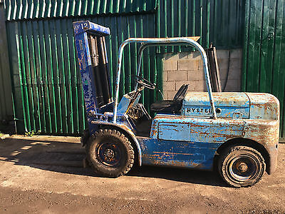 Large Hyster H80C Forklift - Diesel - Lift 3.6 ton - Site Yard - Perkins Engine