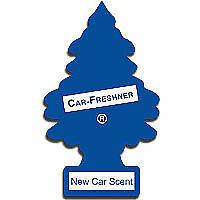 Little Tree Fresh Scented Hanging Air Freshener for Cars & Home - New Car Scent