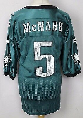 McNABB #5 PHILADELPHIA EAGLES NFL AMERICAN FOOTBALL JERSEY MENS XL STARTER