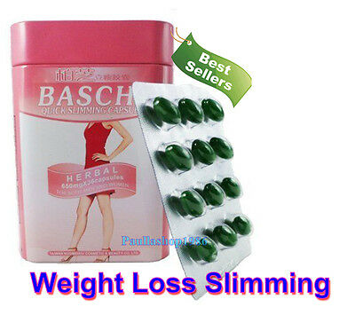 Best Baschi 36 Capsules Very Strong Weight Loss Slimming Fat Burner Diet Pills
