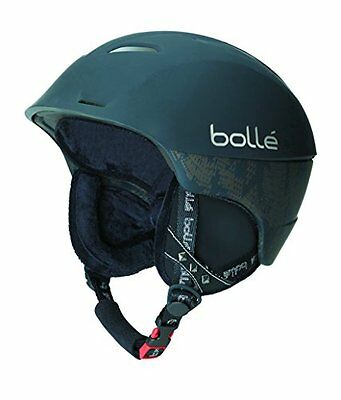 Bolle Synergy Helmet with Bluetooth System - Soft Black, 54 - 58 cm