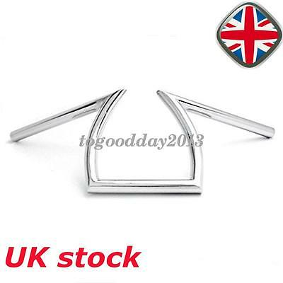 "Motorcycle 1"" 25mm Chrome Universal  Drag Bar Handlebar Z Bars For Harley Honda"