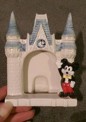 Micky mouse from Disney. Collectable  ceramic picture frame. Perfect condition.