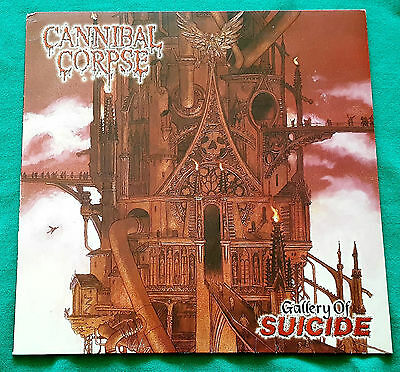 Cannibal Corpse - Gallery Of Suicide LP 1998 First German Press Metal Blade