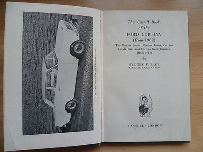 The Cassell Book of the Ford Cortina (from 1962)