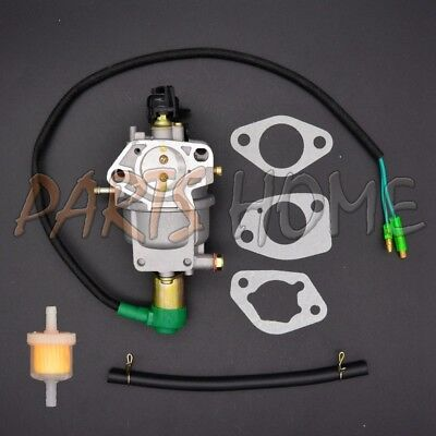 New Carburetor W/ Solenoid FOR Honda GX390 13HP Chinese 188F Generator Engine
