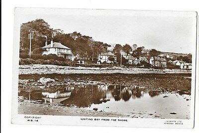 Whiting Bay From The Shore. RP Postcard. Lilywhite LTD.