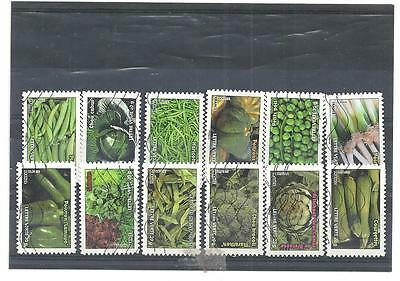 Timbres France 2012 - Serie Legumes Obliteree
