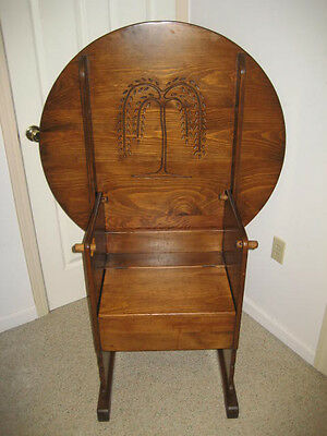 """36"""" Carved Hutch Table - Tavern Table - Casselwood Furniture Grantsville, Md."""