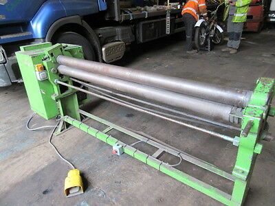 Power Initial Pinch Bending Rollers