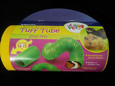 Tuff Tube by Ancol/Just For Pets Extendable Play Tube/Hamsters/Mice/Rats/Degus