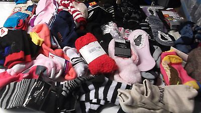 Joblot 66  Pairs Formal Novelty Sports Socks  Mixed Adult Mens Womens Kids
