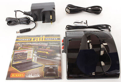 New Hornby E-Link Digital Controller Dcc Railmaster, Transformer, Wires & Elink