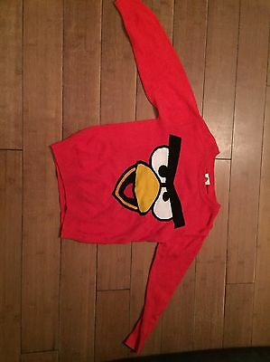 Boys Angry Bird Jumper Age 4 Years