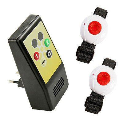 """Maintenance monitor Kit HelpLine """"for two"""" with receiver und"""