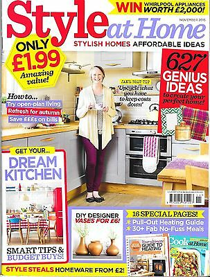 Style At  Home Magazine  November 2015