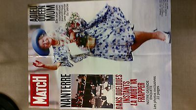collector affiche paris match grd format special ADIEU QUEEN MUM port offert
