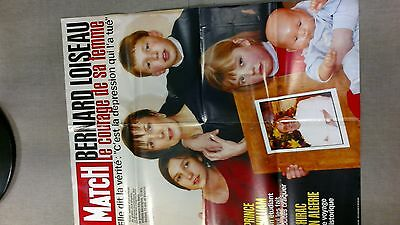 collector affiche paris match grand format BERNARD LOISEAU cuisine mars 2003