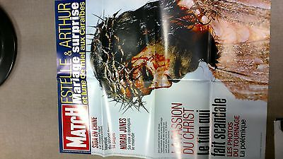 collector affiche paris match grd format LA PASSION DU CHRIST port offert