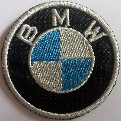 Patches, écusson, thermocollant, aufnäher toppa. embroidered. BMW. 4cm.