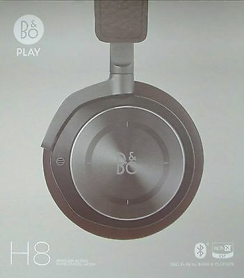 *SAVE £100* B&O PLAY by BANG & OLUFSEN H8 Headphones Gray Hazel BRAND NEW IN BOX