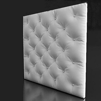 """NEW Plastic molds forms 3D decorative wall panels size 500x500x40mm """"SKIN"""""""