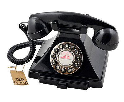 Old Vintage Retro Nostalgia Telephone Antique Corded Traditional Classic Phone