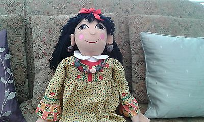 Vintage Rosie And Jim Doll. 30 inches.