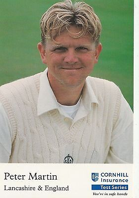 CORNHILL CARD: Series I - Peter Martin, Lancashire CCC... Ashes