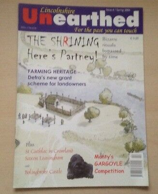 Lincolnshire Unearthed.Articles On Leasingham,Bolinbroke Castle And Many Others
