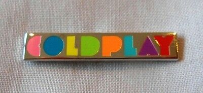 *NEW* Coldplay enamel bar pin badge.Chris Martin,Mod Indie,A head full of dreams