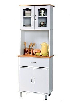 Kitchen Hutch Cabinets. Free Standing Hutch Furniture In The ...