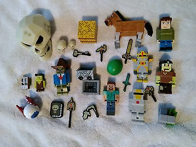 terraria and minecraft figures