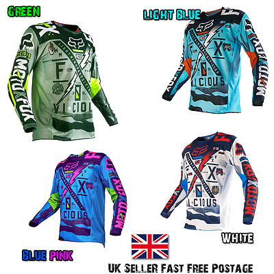 FOX Motocross Jersey VICIOUS Downhill MTB Enduro ATV Best Price! Fast and Free