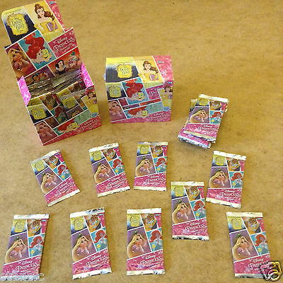 Topps Disney Princess Trading Cards Beauty And The Beast New Sealed Packets