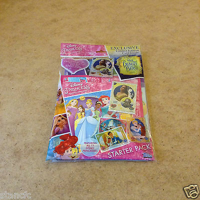 Topps Disney Princess Trading Card Starter Pack Includes Beauty & The Beast Card