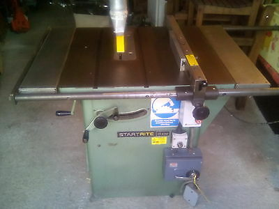 startrite 275 tilting arbor table saw 3 phase