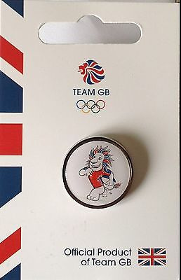 New Official Team Gb Rio 2016 Olympic Pin Badge - Pride Rugby - Limited Edition