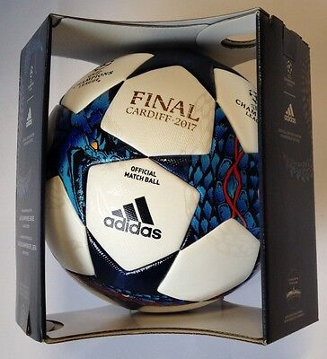 adidas AZ5200 Finale Cardiff Champions League Game ball with gift box