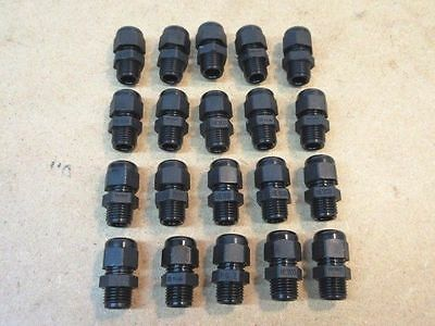 SET of 20 HEYCO PG7 LIQUID TITE CORD GRIP CONNECTORS