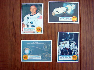 A&bc -  Man On The Moon Gum Cards  ( Lot 1 )