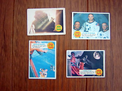 A&bc -  Man On The Moon Gum Cards  ( Lot 2 )