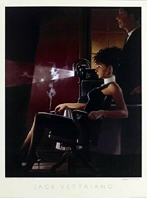 Jack Vettriano - An Imperfect Past - premium open edition print (60x80)