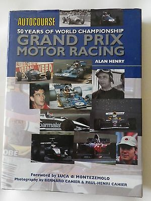 Autocourse 50 Years of World Championship Grand Prix Motor Racing, by Alan Henry