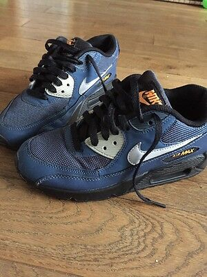 Blue Nike Air Max Trainers Size 4